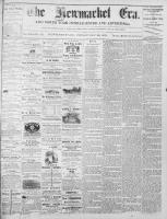 Newmarket Era (Newmarket, ON1861), November 29, 1872