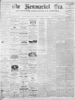 Newmarket Era (Newmarket, ON1861), December 13, 1872