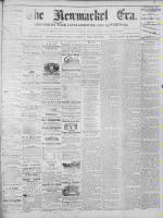 Newmarket Era (Newmarket, ON1861), December 27, 1872