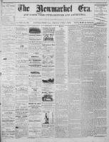 Newmarket Era (Newmarket, ON), February 7, 1873