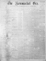 Newmarket Era (Newmarket, ON), April 25, 1873