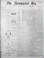 Newmarket Era (Newmarket, ON), May 16, 1873