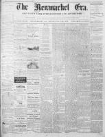 Newmarket Era (Newmarket, ON1861), July 25, 1873