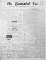 Newmarket Era (Newmarket, ON1861), August 1, 1873