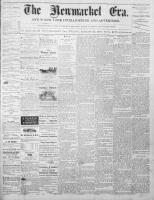 Newmarket Era (Newmarket, ON1861), August 22, 1873