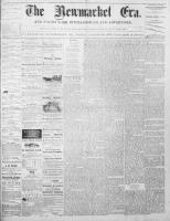 Newmarket Era (Newmarket, ON1861), August 29, 1873