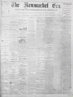 Newmarket Era (Newmarket, ON1861), October 31, 1873