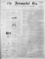 Newmarket Era (Newmarket, ON1861), November 28, 1873