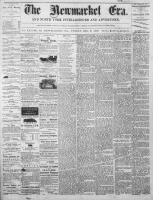 Newmarket Era (Newmarket, ON1861), December 5, 1873