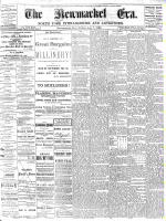 Newmarket Era (Newmarket, ON1861), August 7, 1885