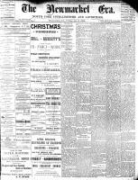 Newmarket Era (Newmarket, ON1861), January 8, 1886