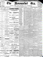 Newmarket Era (Newmarket, ON1861), January 15, 1886