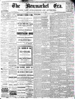 Newmarket Era (Newmarket, ON1861), August 13, 1886