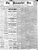 Newmarket Era (Newmarket, ON), November 12, 1886