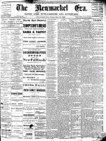Newmarket Era (Newmarket, ON), November 19, 1886