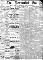 Newmarket Era (Newmarket, ON), March 25, 1887