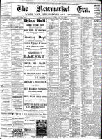 Newmarket Era (Newmarket, ON), July 15, 1887