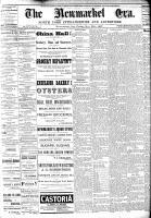 Newmarket Era (Newmarket, ON1861), November 25, 1887