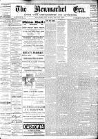Newmarket Era (Newmarket, ON1861), December 16, 1887