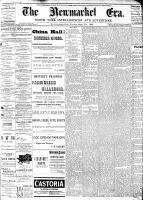 Newmarket Era (Newmarket, ON1861), September 7, 1888