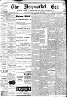 Newmarket Era (Newmarket, ON1861), October 26, 1888