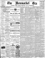 Newmarket Era (Newmarket, ON1861), November 15, 1889