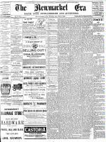 Newmarket Era (Newmarket, ON1861), January 23, 1891