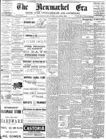 Newmarket Era (Newmarket, ON), January 30, 1891