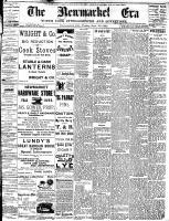 Newmarket Era (Newmarket, ON1861), September 23, 1892