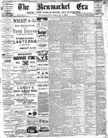 Newmarket Era (Newmarket, ON1861), October 7, 1892