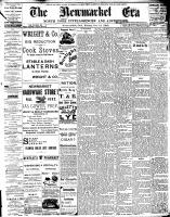 Newmarket Era (Newmarket, ON1861), October 14, 1892