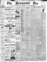 Newmarket Era (Newmarket, ON1861), October 28, 1892