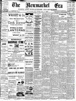 Newmarket Era (Newmarket, ON1861), November 4, 1892