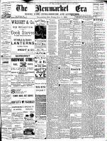 Newmarket Era (Newmarket, ON1861), November 11, 1892