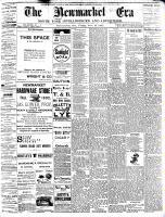 Newmarket Era (Newmarket, ON1861), November 18, 1892