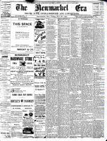 Newmarket Era (Newmarket, ON1861), November 25, 1892