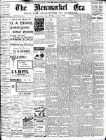 Newmarket Era (Newmarket, ON1861), July 28, 1893