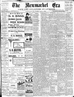Newmarket Era (Newmarket, ON1861), August 4, 1893