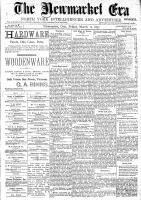 Newmarket Era (Newmarket, ON1861), March 12, 1897