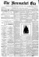 Newmarket Era (Newmarket, ON1861), March 19, 1897