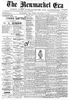 Newmarket Era (Newmarket, ON1861), December 24, 1897
