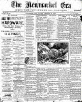 Newmarket Era (Newmarket, ON), February 18, 1898