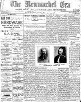 Newmarket Era (Newmarket, ON), February 25, 1898