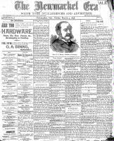 Newmarket Era (Newmarket, ON), March 4, 1898