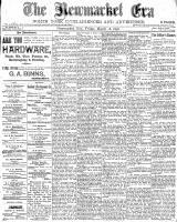 Newmarket Era (Newmarket, ON), March 18, 1898