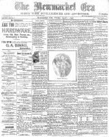 Newmarket Era (Newmarket, ON), April 1, 1898