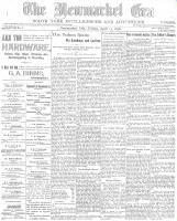 Newmarket Era (Newmarket, ON), April 15, 1898