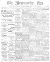 Newmarket Era (Newmarket, ON), April 22, 1898