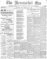 Newmarket Era (Newmarket, ON), April 29, 1898