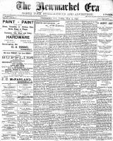 Newmarket Era (Newmarket, ON1861), May 13, 1898